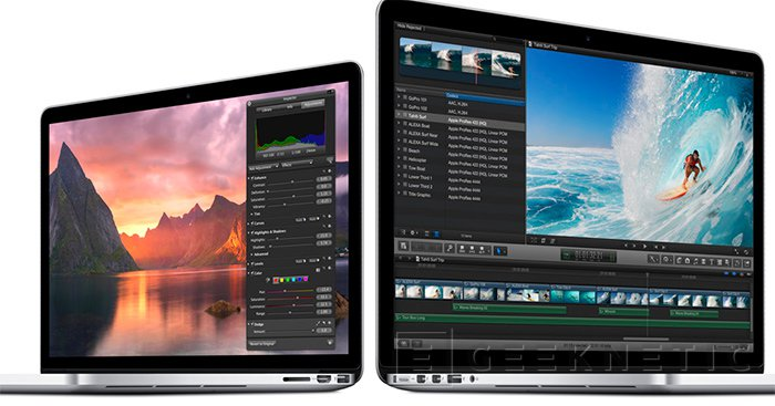 Apple actualiza toda su gama Macbook Pro Retina, Imagen 1