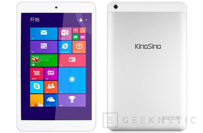 Kingsing W8 es un Tablet Windows por 100 Dólares, Imagen 1