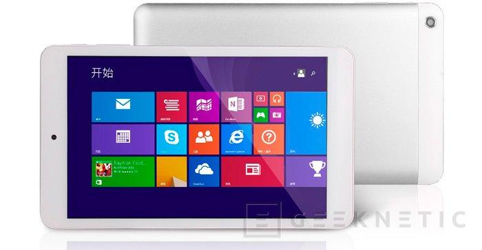 Kingsing W8 es un Tablet Windows por 100 Dólares, Imagen 2