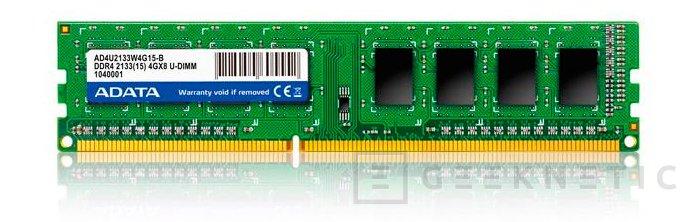 ADATA presenta oficialmente sus primeros módulos DDR4, Imagen 1
