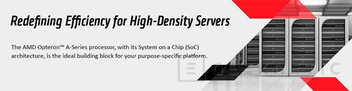 AMD comienza el programa de kits de desarrollo de su plataforma Opteron ARM, Imagen 1