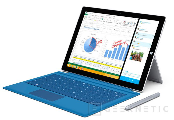 La Surface Pro 3 llegará el 28 de agosto a España, Imagen 1