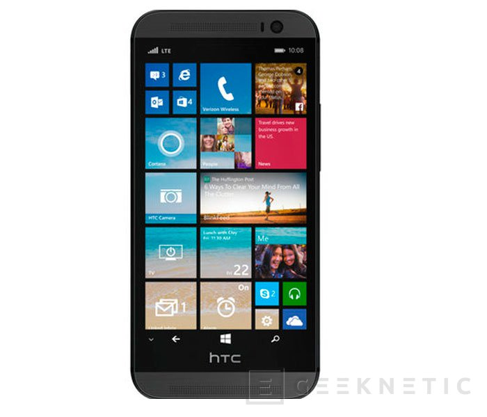 Filtrado el HTC One for Windows, un HTC One con Windows Phone 8.1 Update 1, Imagen 1