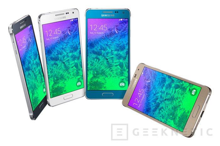 Galaxy Alpha: Samsung apuesta por el metal en su nuevo terminal, Imagen 1