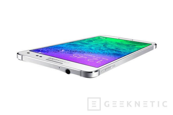 Galaxy Alpha: Samsung apuesta por el metal en su nuevo terminal, Imagen 2