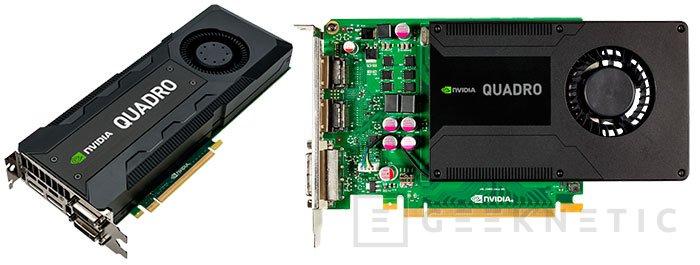 Nvidia lanza una nueva serie de GPUs profesionales QUADRO Kx2, Imagen 1