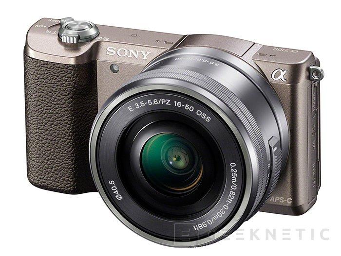 La Alpha 5100 es la última incorporación APS-C de Sony, Imagen 1