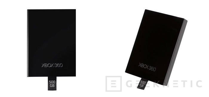 Microsoft no se olvida de la Xbox 360 y lanza un disco de 500 GB , Imagen 1