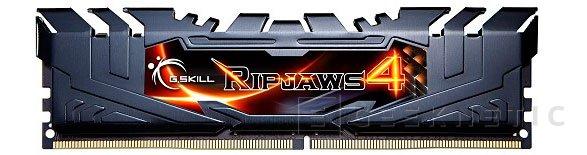 G.SKILL también tiene listos sus módulos Ripjaws 4 DDR4, Imagen 1