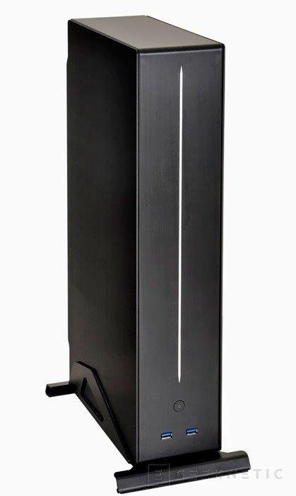 Lian Li PC-Q19, una nueva torre Mini-ITX ultra fina, Imagen 2