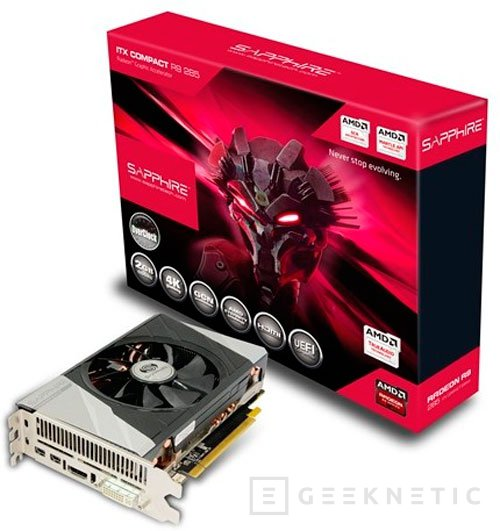 Sapphire deja ver la primera Radeon R9 285 compacta para torres Mini-ITX, Imagen 2