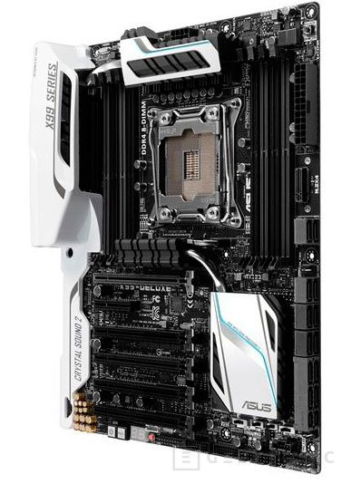 Filtrada la ASUS X99 Deluxe con sus acabados en blanco, Imagen 2
