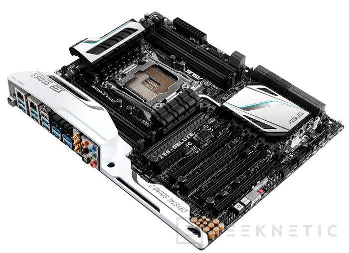 Filtrada la ASUS X99 Deluxe con sus acabados en blanco, Imagen 3