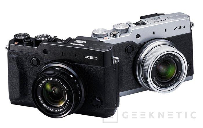 Fuji introduce la nueva X30, Imagen 2