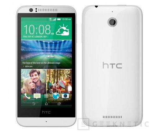 HTC Desire 510, otro terminal de 64 bits, Imagen 1