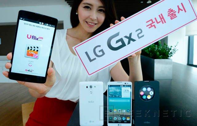 LG aumenta el tamaño de su nuevo Gx2 hasta las 5,7 pulgadas, Imagen 1