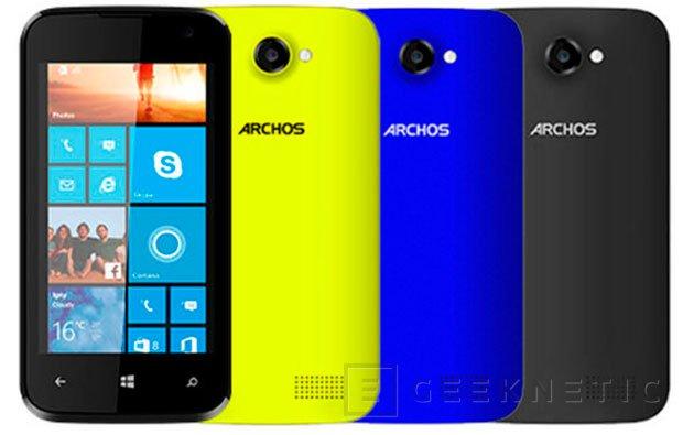 Archos lanza un tablet y un móvil con Windows para el mercado más asequible, Imagen 1