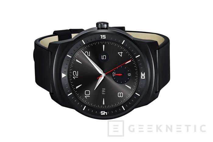 LG presenta oficialmente su reloj circular G Watch R, Imagen 2