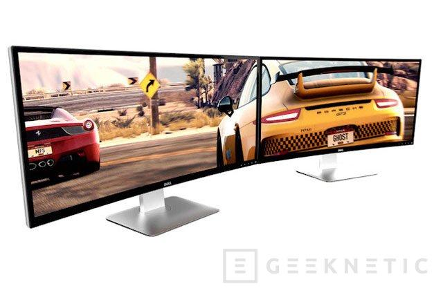 Dell anuncia 4 nuevos monitores, entre ellos el U3415W con pantalla curva y ultra-panorámica, Imagen 1