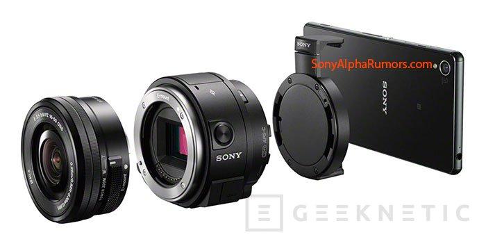Se filtran detalles del Sony QX1, un sensor APS-C con objetivos intercambiables para móviles, Imagen 1