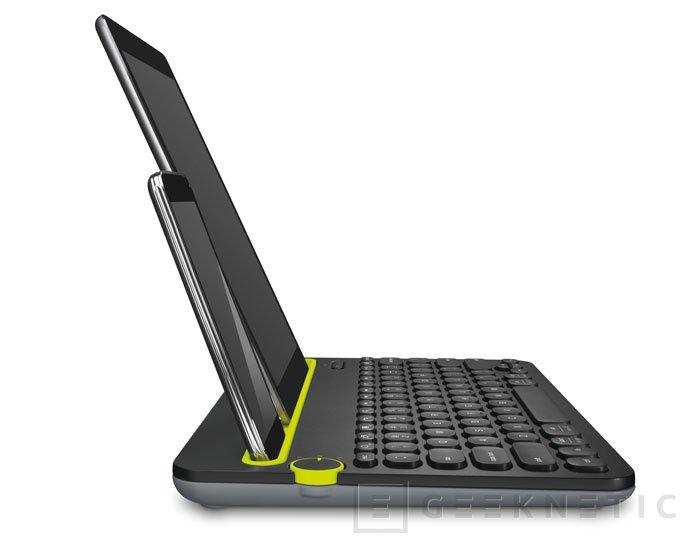 Logitech presenta su ratón M280 y teclado K480, ambos inalámbricos, Imagen 1