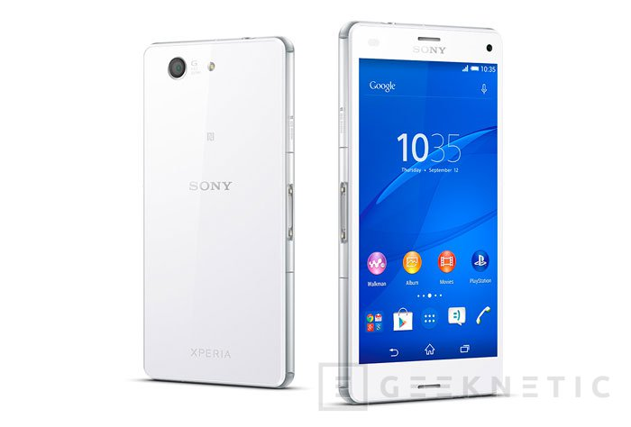 Sony Xperia Z3 Compact, Imagen 1