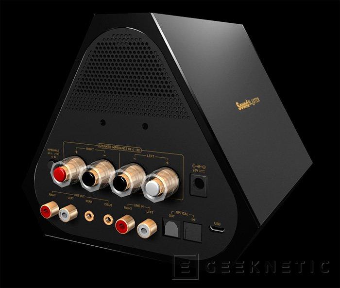 Creative presenta la nueva SoundBlaster X7, Imagen 2