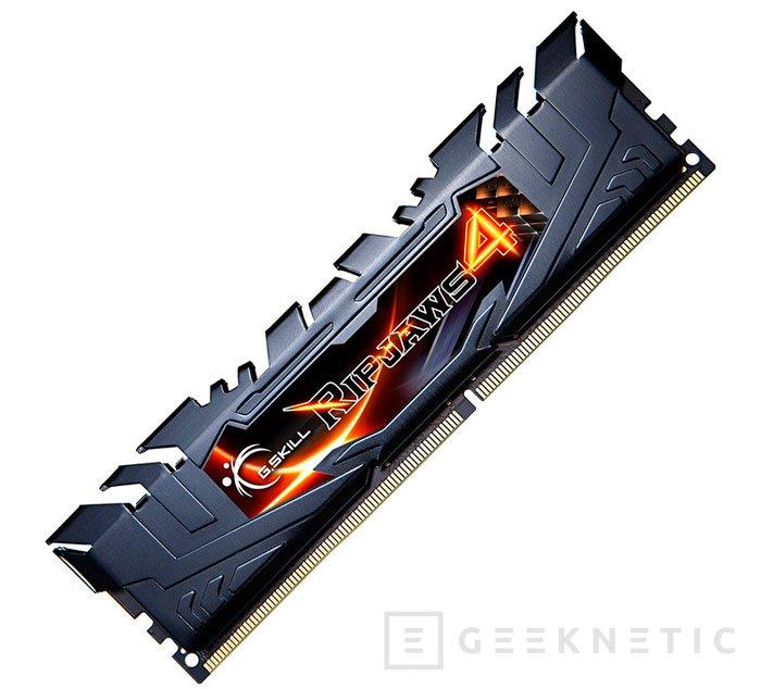 G.Skill lanza las memorias DDR4 más rápidas del mercado, Imagen 1