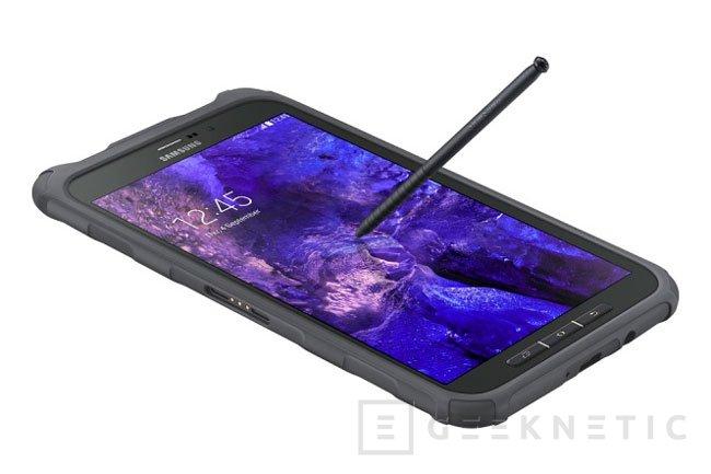 Samsung Galaxy Tab Active, un nuevo tablet  con resistencia al agua y los golpes, Imagen 1