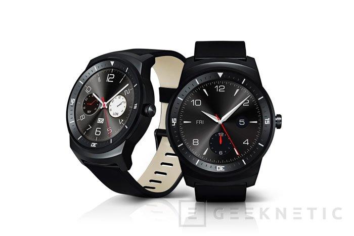 El LG G Watch R también llegará al mercado durante el próximo mes, Imagen 1