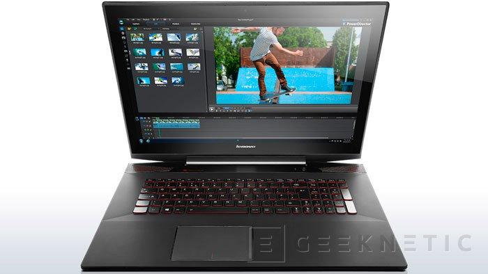 Lenovo se atreve con un portátil gaming, el Y70 Touch, Imagen 1
