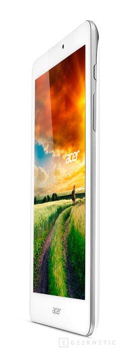 Acer presenta nuevos tablets con Windows 8.1 y Android, Imagen 1