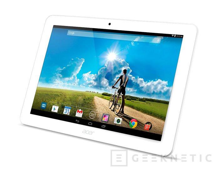 Acer presenta nuevos tablets con Windows 8.1 y Android, Imagen 2