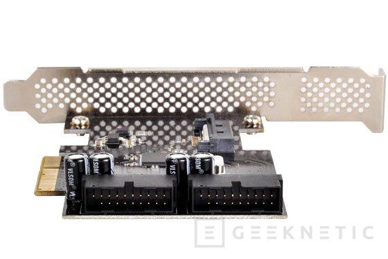 SilverStone presenta una tarjeta PCIe con dos puertos USB 3.0 internos, Imagen 2