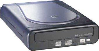 Grabadoras externas e internas de DVD a 8X de HP, Imagen 1