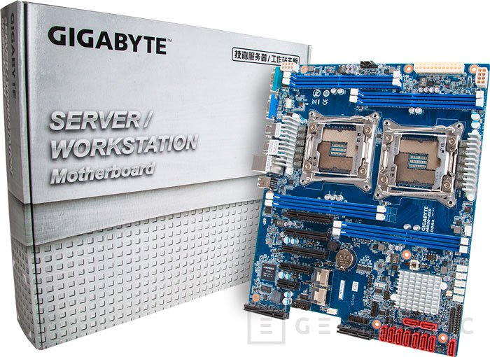 Gigabyte lanza nuevas placas base dual socket para los procesadores Intel Xeon E5-2600 V3, Imagen 2