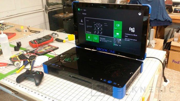 XBOOK ONE, una Xbox One en formato portátil, Imagen 1