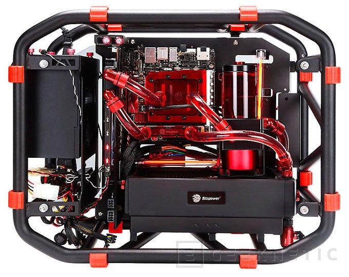 In Win lanza una versión Mini-ITX de su torre abierta D-Frame, Imagen 2