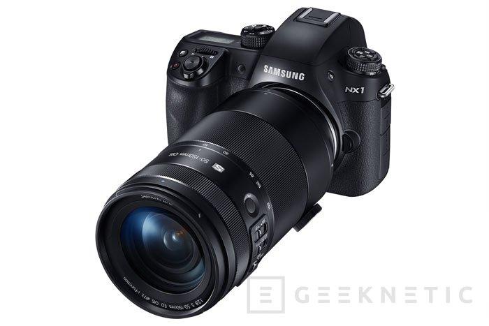 Samsung presenta su nueva NX1 con grabación 4K, Imagen 1