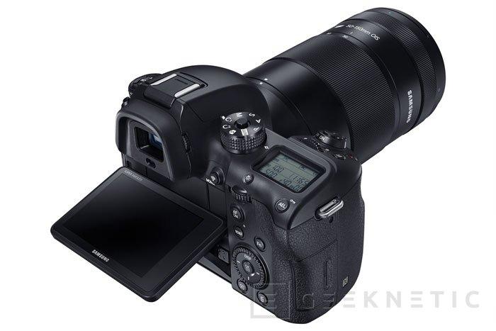 Samsung presenta su nueva NX1 con grabación 4K, Imagen 2
