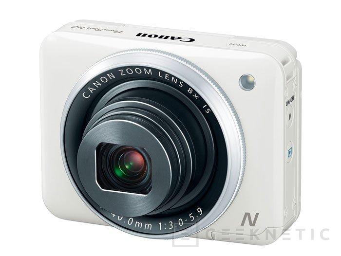 Canon sigue apostando por el formato ultra compacto con su PowerShot N2, Imagen 1