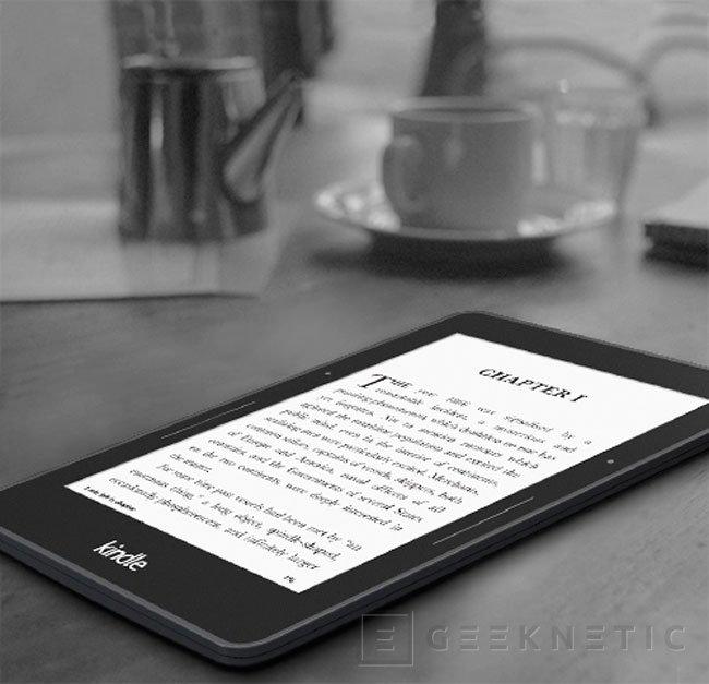 Kindle Voyage, llega el nuevo e-reader de Amazon, Imagen 1