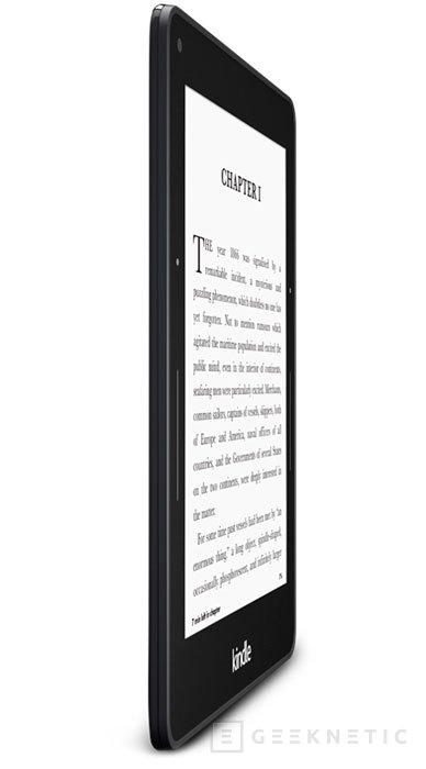 Kindle Voyage, llega el nuevo e-reader de Amazon, Imagen 2