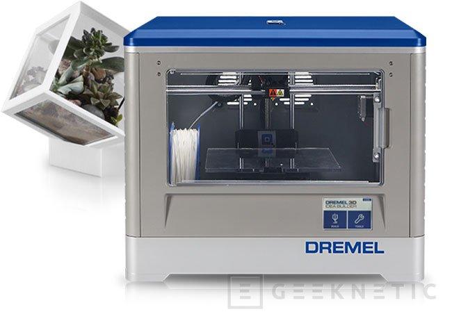 Dremel presenta su propia impresora 3D, Imagen 1