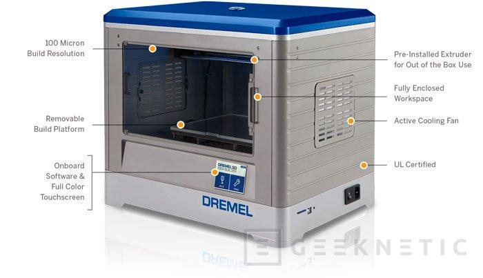 Dremel presenta su propia impresora 3D, Imagen 2