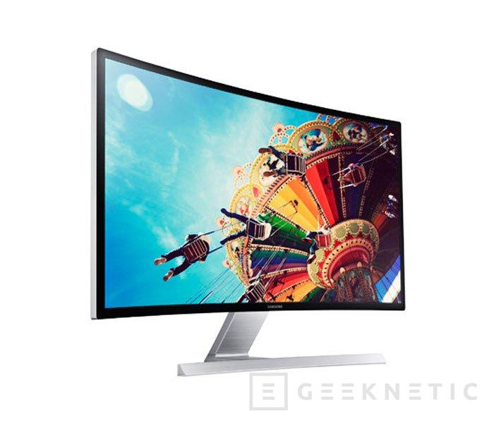 Samsung lleva sus paneles curvados a su nuevo monitor S27D590C, Imagen 1
