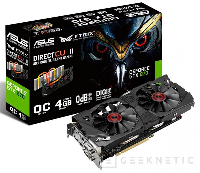 ASUS añade las nuevas GTX 980 y GTX 970 a su gama STRIX, Imagen 3