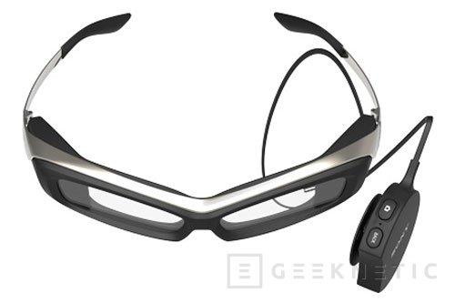 Sony prepara las gafas inteligentes SmartEyeglass, Imagen 1
