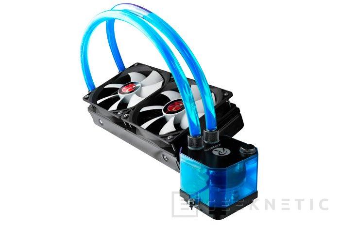 Raijintek lanza su refrigeración líquida integrada Triton con depósito en el bloque, Imagen 1