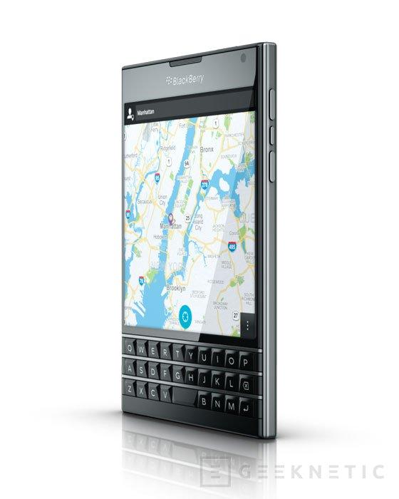 Blackberry vuelve a sus orígenes con la nueva Passport, Imagen 2